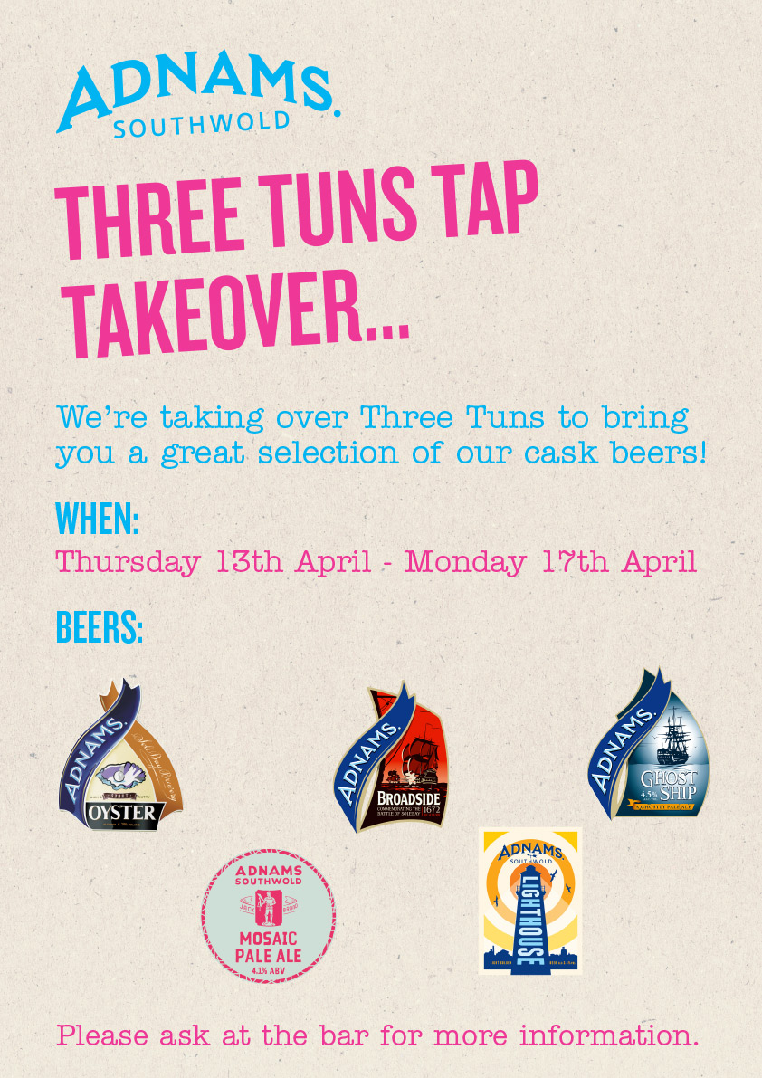 Three Tuns Takeover